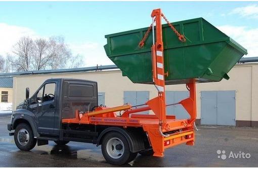 Вывоз строительного мусора в Алуште, фото — «Реклама Алушты»