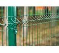 3d забор секционный Стандарт 2,5х2 м,4 мм толщ, 200х50 мм ячейка (зеленый) - Заборы, ворота в Симферополе
