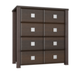 Распродажа мебели для спальни. Комод Изабель ИЗ-4 орех темный - Мебель для спальни в Севастополе