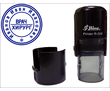 Круглая печать на автомате D 22 мм, фото — «Реклама Феодосии»