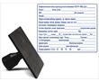 Простой штамп на пластике 80х100 мм, фото — «Реклама Феодосии»