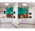 Кухня глянцевая, фасад МДФ крашеный от производителя. Фабрика в Севастополе - Мебель для кухни в Севастополе