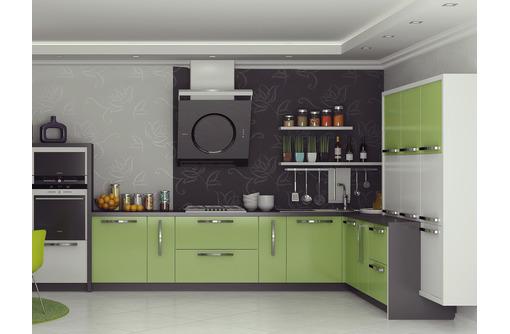 Качественная кухня на заказ от производителя мебели в Севастополе. Фасад МДФ пленочный, Глянец, фото — «Реклама Севастополя»
