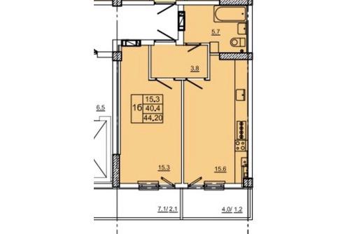 Квартира 44,2кв.м за 1946000 руб, фото — «Реклама Севастополя»
