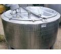 Емкость нержавеющая ОПБ-1000, объем — 1 куб.м., рубашка, термос, мешалка - Продажа в Черноморском