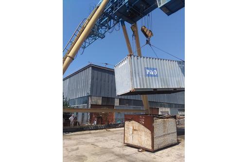 Хранение контейнеров, блок контейнеров и бытовок., фото — «Реклама Севастополя»