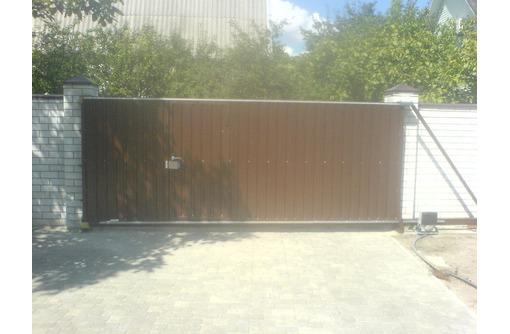 Ворота откатные распашные,металлоконструкции от производителя., фото — «Реклама Севастополя»