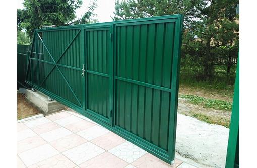 Ворота откатные,распашные,бытовки,навесы металлоконструкции от производителя., фото — «Реклама Севастополя»