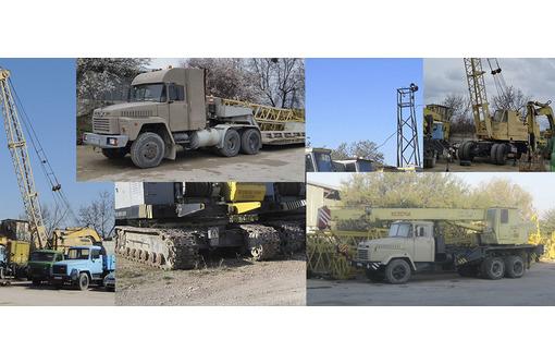 Аренда монтажных кранов МКГ на гусеничном ходу гп 25 - 40, фото — «Реклама Севастополя»