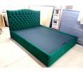 Кровать в каретной стяжке от студии мебели Орион-Крым - Мебель для спальни в Симферополе