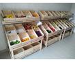 Деревянный овощной стеллаж, фото — «Реклама Керчи»