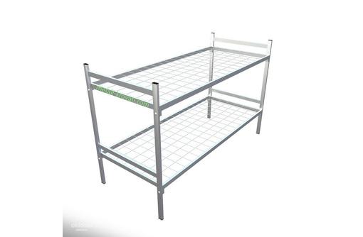 кровати металлические армейского типа, фото — «Реклама Судака»