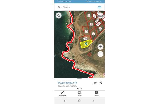 Участок 20 сот 1я линия от моря Фиолент Автобат 20 млн, фото — «Реклама Севастополя»
