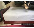 деревянная кровать с диванным матрасом, фото — «Реклама Алупки»