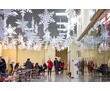 Снежинки, новогодний декор из пенопласта, фото — «Реклама Севастополя»