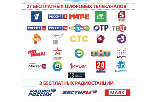 Установка и настройка, ремонт спутниковых и Т2 антенн, настройка тюнеров и IPTV., фото — «Реклама Красногвардейского»