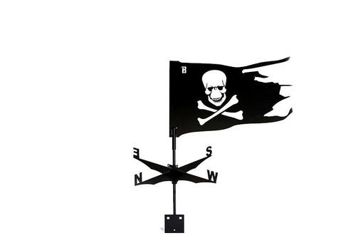 "Флюгер ""Пират"" 490*380 мм 2950 руб, фото — «Реклама Феодосии»"