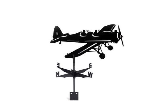 """Флюгер """"Самолёт"""" 700*435 мм 3750 руб, фото — «Реклама Феодосии»"""