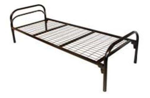 Кровати для рабочих металлические, фото — «Реклама Черноморского»