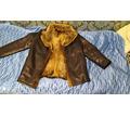 Продам кожаную куртку на волчьем меху - Мужская одежда в Севастополе
