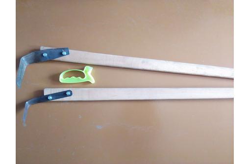 плоскорезы Фокина средний и малый в комплекте с 2-мя черенками., фото — «Реклама Бахчисарая»
