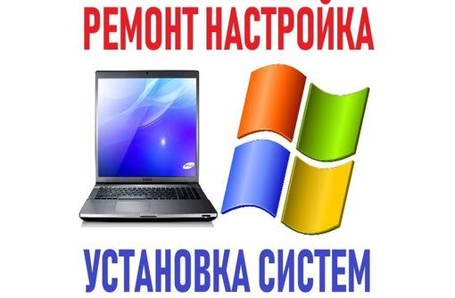Ремонт, настройка компьютеров, ноутбуков, установка Windows, Linux. Выезд на дом. Доступные цены., фото — «Реклама Севастополя»