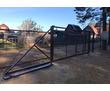 Заборы из профнастила. Ворота, фото — «Реклама Севастополя»