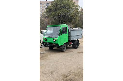 Multicar доставка сыпучих материалов, фото — «Реклама Севастополя»
