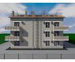 Проект трехэтажного дома на 9 квартир, фото — «Реклама Севастополя»
