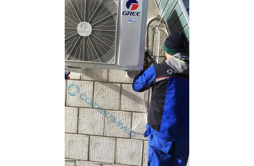 Установка кондиционера Белогорск, фото — «Реклама Белогорска»