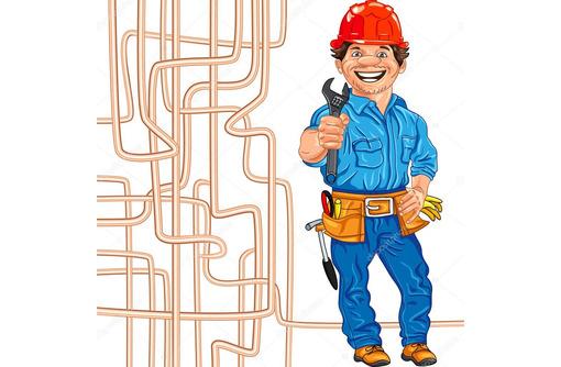 Сантехник Судак. Прочистка канализации, устранение засоров труб профессиональным оборудованием, фото — «Реклама Судака»