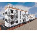 Проект трехэтажного частного дома с баней, бассейном и гаражом для узкого участка - Услуги по недвижимости в Севастополе