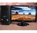 Хороший компьютер с большим плоским монитором - Продажа в Симферополе