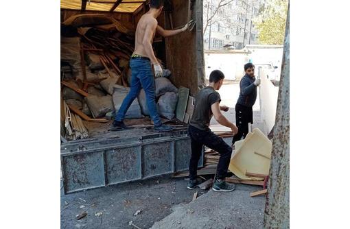 Вывоз строительного мусора , грунта, хлама. Демонтажные работы. Любые объёмы!!!Работаем 24/7, фото — «Реклама Севастополя»