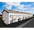 Проект трехэтажного таунхауса - 10 блокированных домов - Услуги по недвижимости в Севастополе