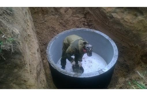 Бетонные крышки, днища, кольца кс-15.9 для канализации, фото — «Реклама Севастополя»