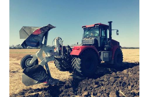 Услуги по поднятию плантажа на глубину до 70 см в Крыму, услуги трактора с плугом, фото — «Реклама Красногвардейского»