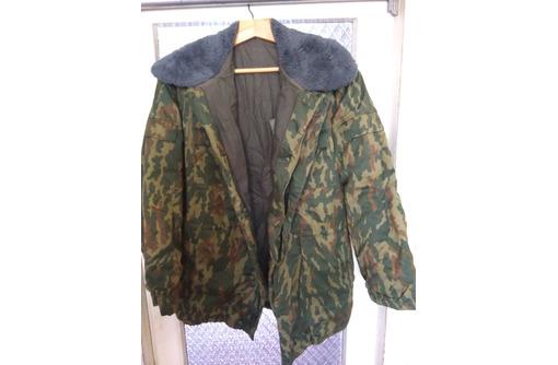 зимняя куртка камуфляж х/б с войлочной подстёжкой, фото — «Реклама Бахчисарая»