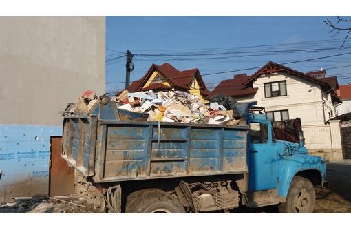 Вывоз мусора, хлама, грунта. Демонтажные работы. Быстро и качественно.Без выходных, фото — «Реклама Севастополя»