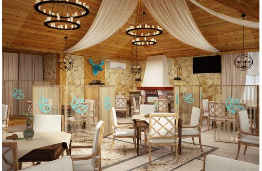 Дизайн-проект интерьера ресторана. Скидки на большие площади. -15% в праздники. Бесплатн.консултация, фото — «Реклама Симферополя»