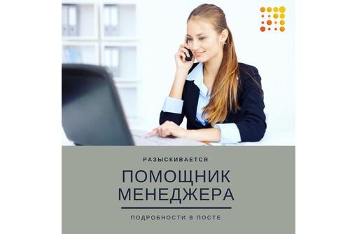 Помощник менеджера по продажам, фото — «Реклама Севастополя»