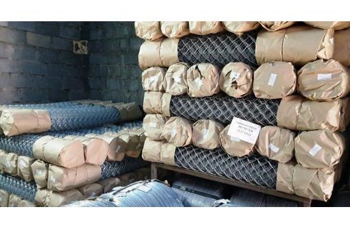 Сетка Рабица оцинкованная в рулонах, фото — «Реклама Армянска»
