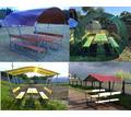 Новые садовые беседки со столиком и лавкой - Садовая мебель и декор в Крыму