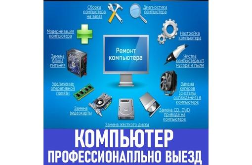 Компьютерный мастер. Ремонт компьютеров и ноутбуков. Windows. Профессионально. Выезд на дом., фото — «Реклама Севастополя»