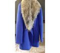Продам пальто василькового цвета. - Женская одежда в Крыму
