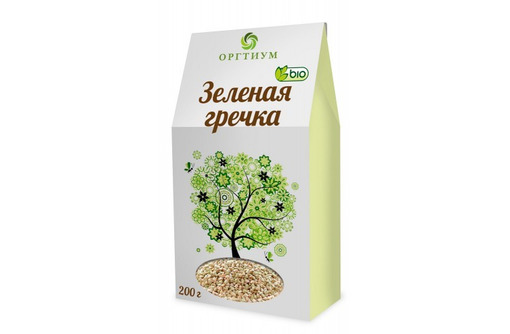 Гречка зеленая, 200 г, фото — «Реклама Севастополя»
