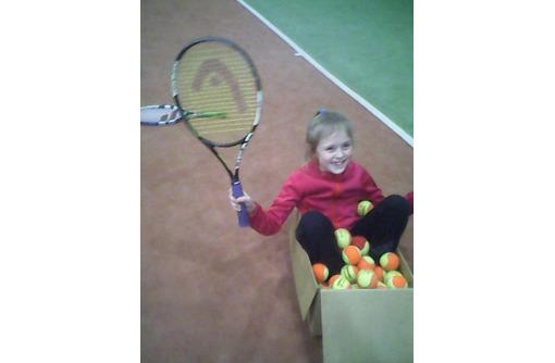 Провожу тренировки по теннису, фото — «Реклама Севастополя»