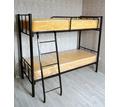 Кровати на металлокаркасе, двухъярусные, односпальные для хостелов, гостиниц, рабочих - Мебель для спальни в Симферополе