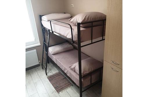 Кровати на металлокаркасе, двухъярусные, односпальные для хостелов, гостиниц, рабочих, фото — «Реклама Севастополя»