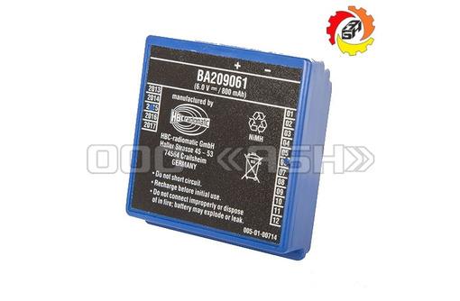 Аккумуляторная батарея HBC-Radiomatiс BA209061, BA209000 - 6.0V, 800 mAh., фото — «Реклама Севастополя»